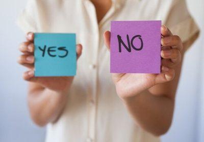 """Saber Cuándo Decir """"NO"""""""