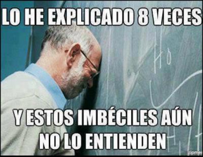 memes de profesores