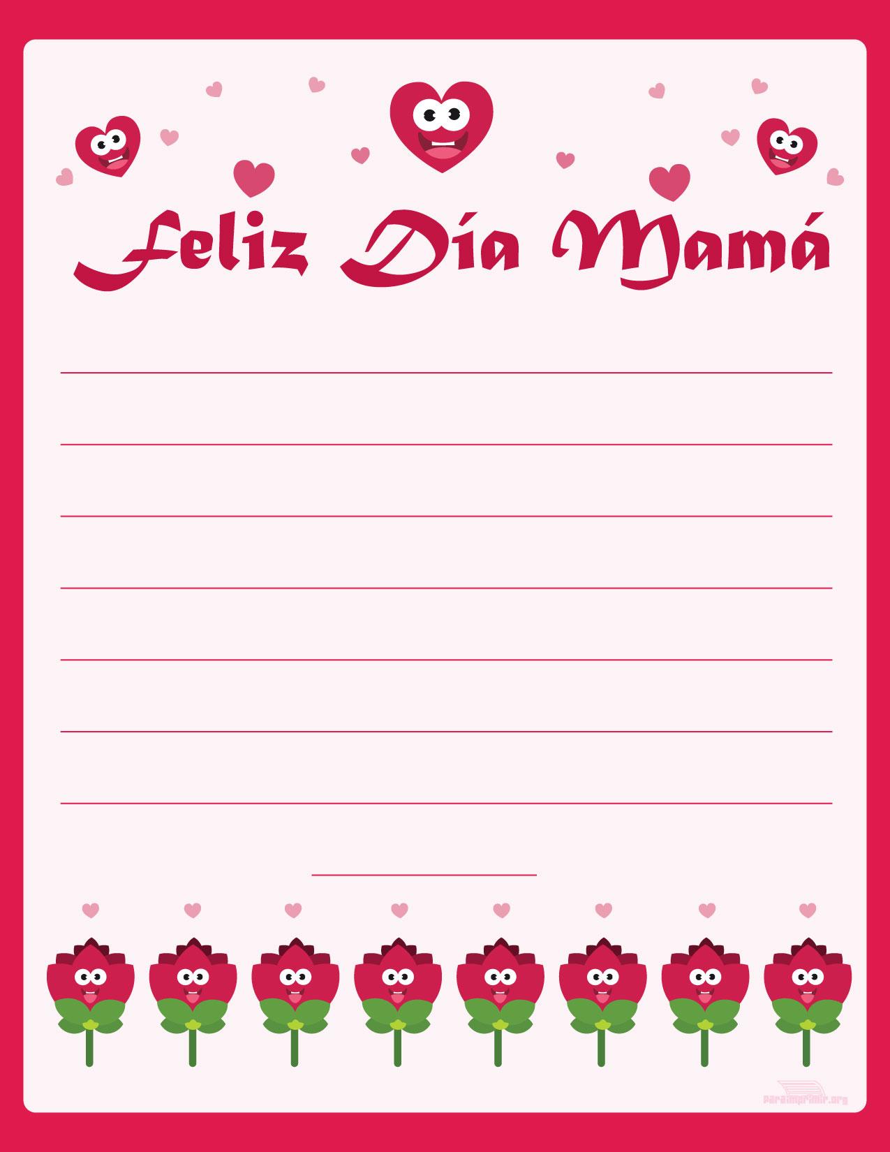 tarjetas para dedicar mama