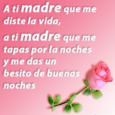 agradecida con mi madre