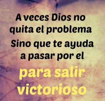 Dios no quita