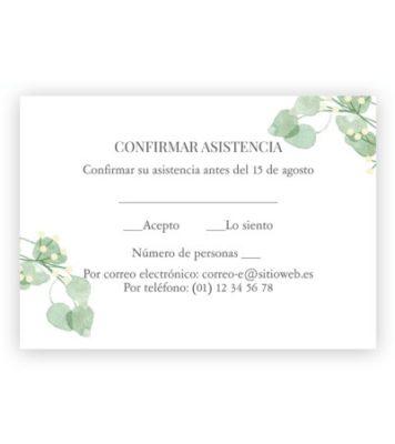 tarjeta de invitacion a boda