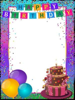 cumpleaños personalizado