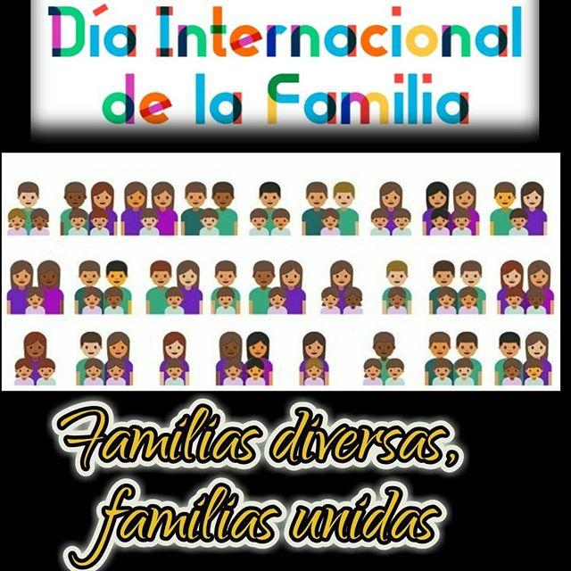 celebrar a la familia en su dia