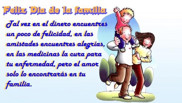 feliz dia internacional de la familia unida