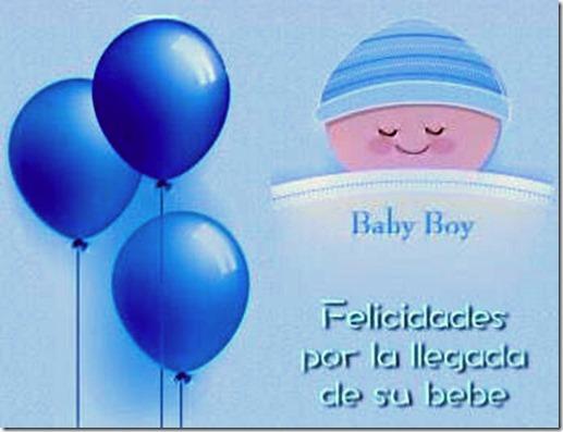 felicidades por la llegada del bebe