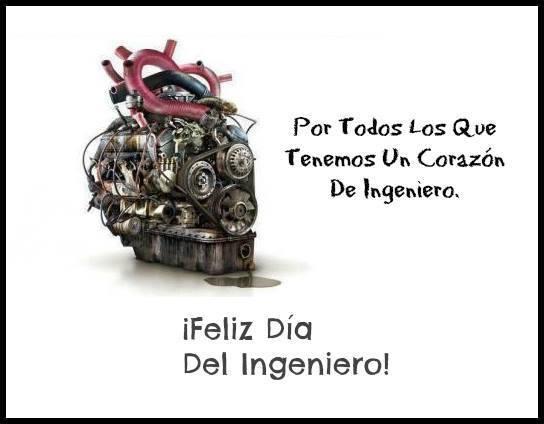 conmemorar al ingeniero en su dia
