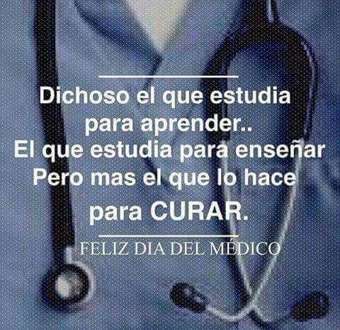 feliz dia a todos los médicos cirujanos