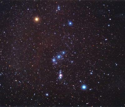 imagenes de estrellas el cinturon de orion