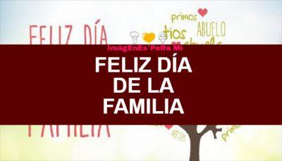 Lee más sobre el artículo Feliz Día de la Familia: Imágenes, frases y tarjetas para compartir