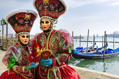 imagenes de carnaval en venecia
